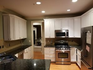 Before & After Cabinet Painting in Fuquay Varina, NC (2)