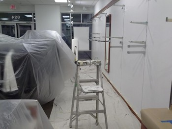 Interior Painting in Tanger Outlets