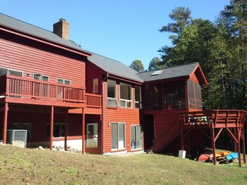 After Exterior House Painting in Chapel Hill, NC